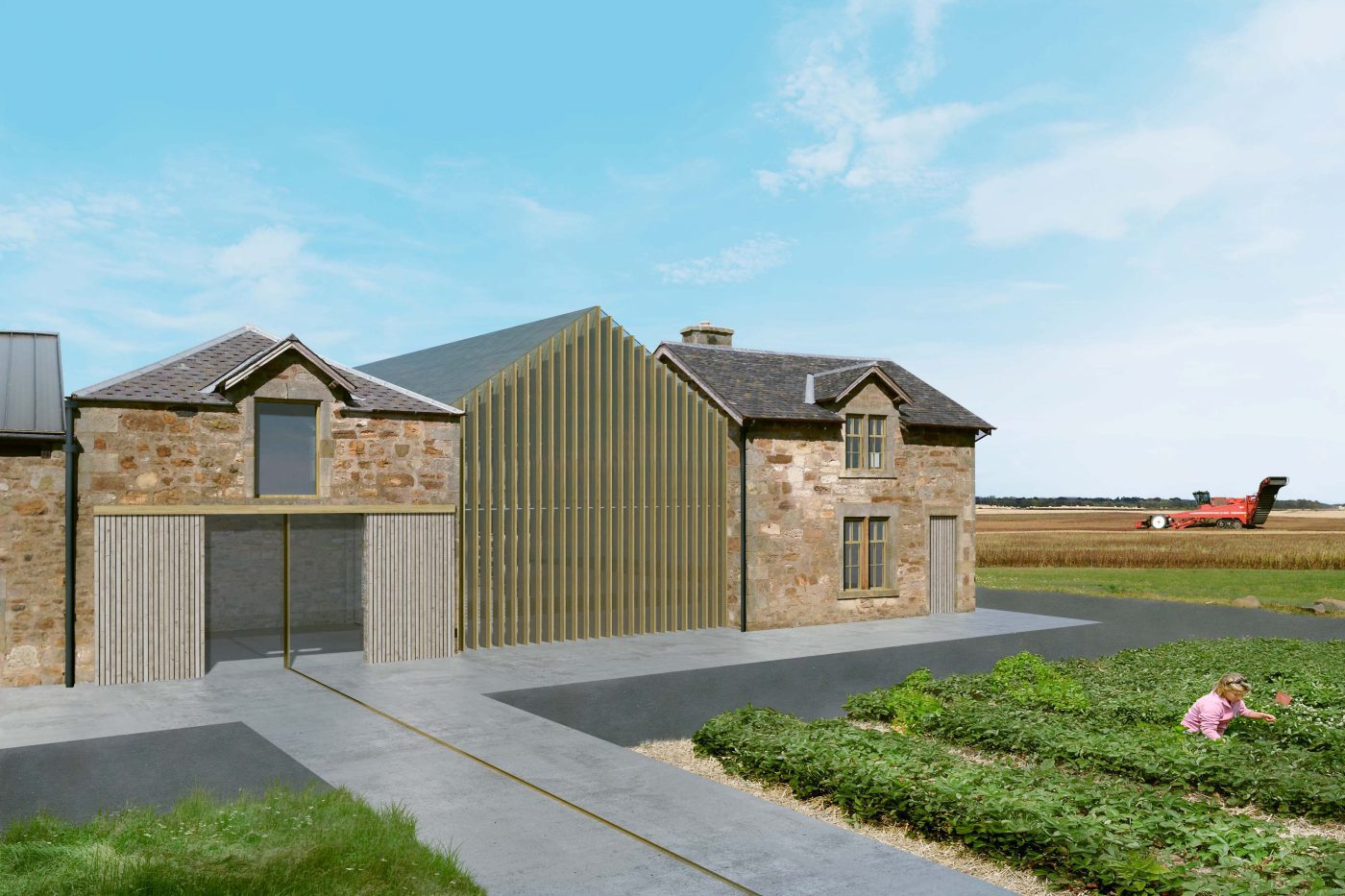 Bowhouse food production fife for Bow house plans