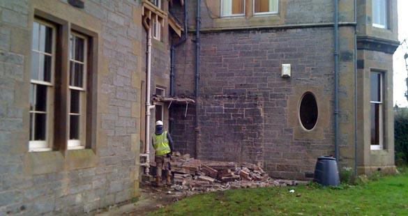 Trinity House demolitions