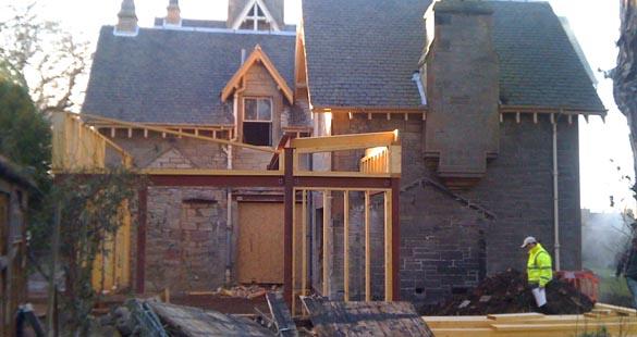 Trinity house frame