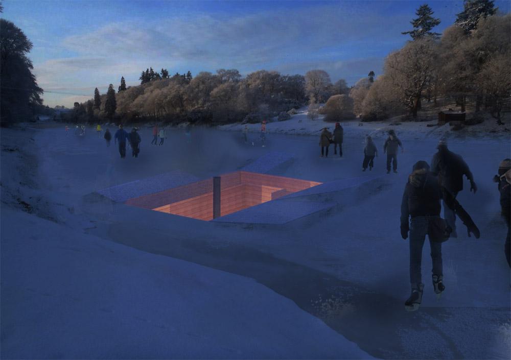 Warming Hut plans
