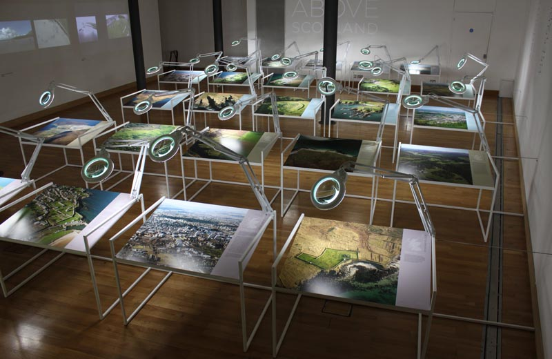 Above Scotland installation