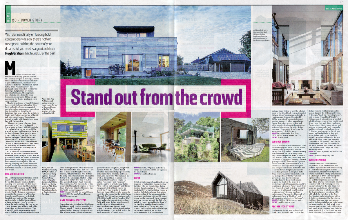 PRESS SUNDAY TIMES HOME MAGAZINE