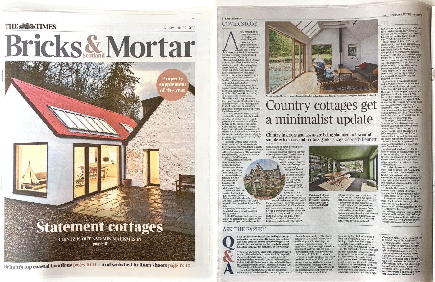 Bricks and Mortar article